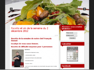 chef francois daoust