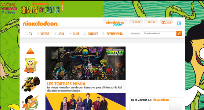 Client : Nickelodeon